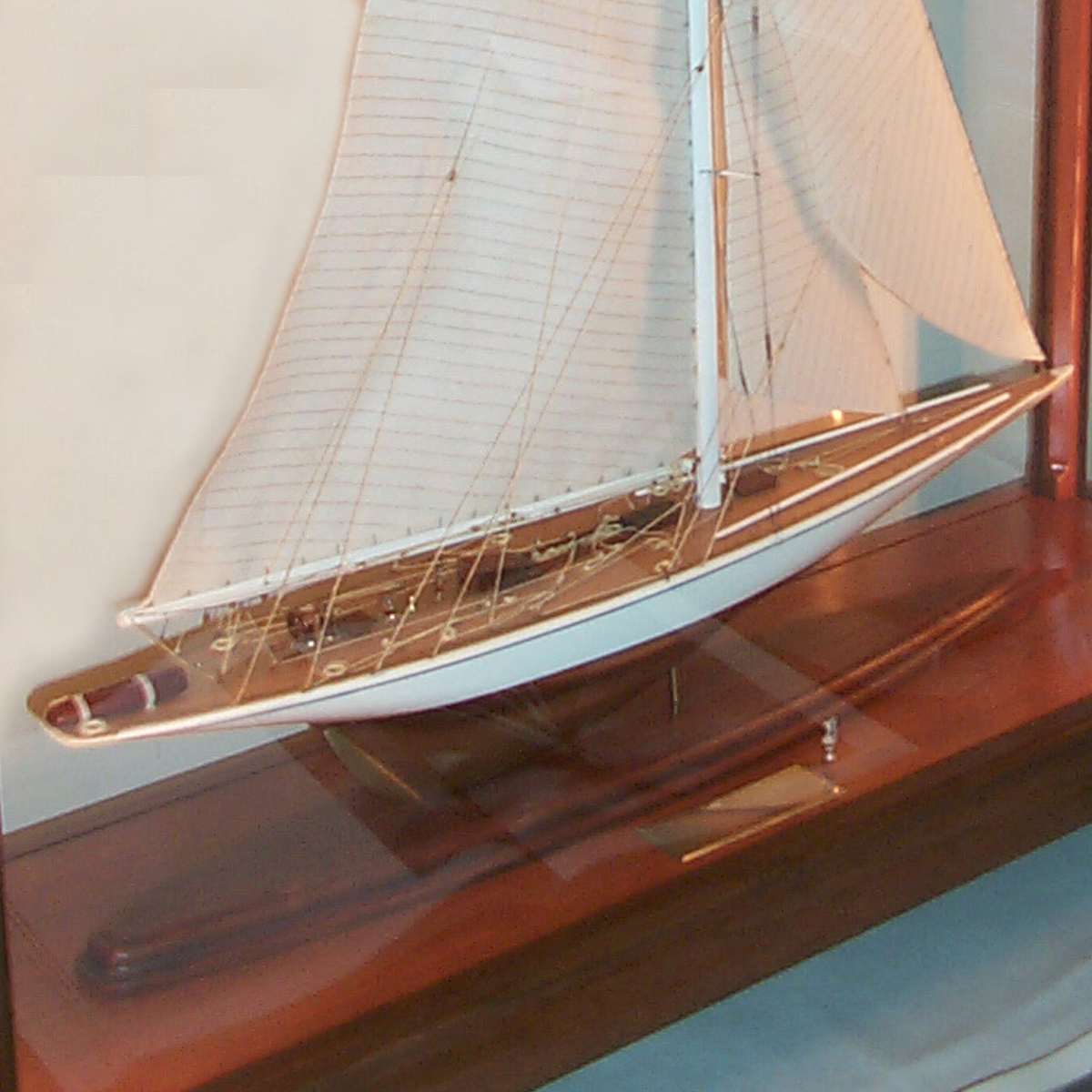 Ship Model and Case