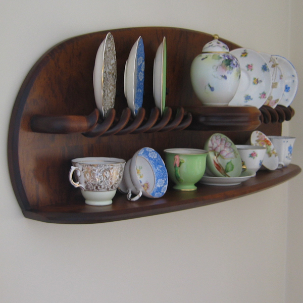 Tea Cup Display Shelf